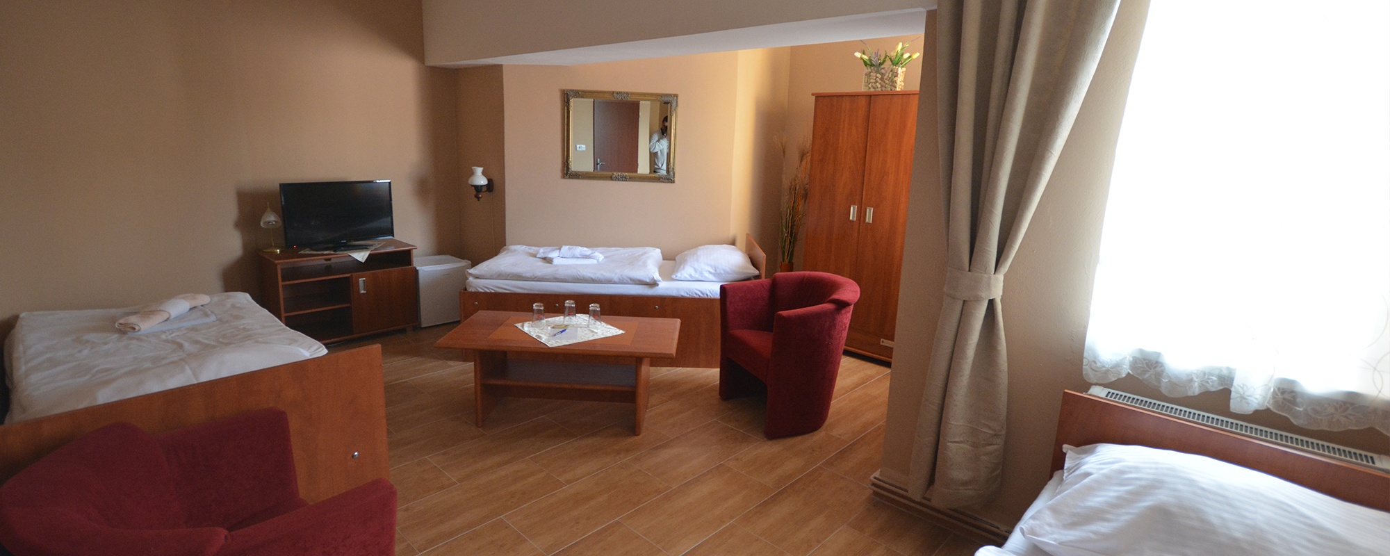 Komfortní a cenově dostupné ubytování
